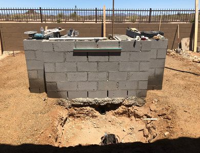 Outdoor Kitchen and Hardscape