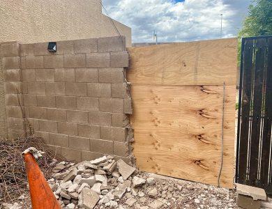 Block Wall Repairs